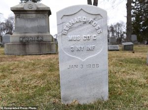"Headstone for ""The Little Drummer Boy"""