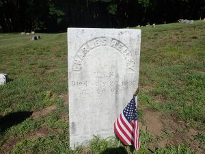 Veteran's headstone St. Patrick's